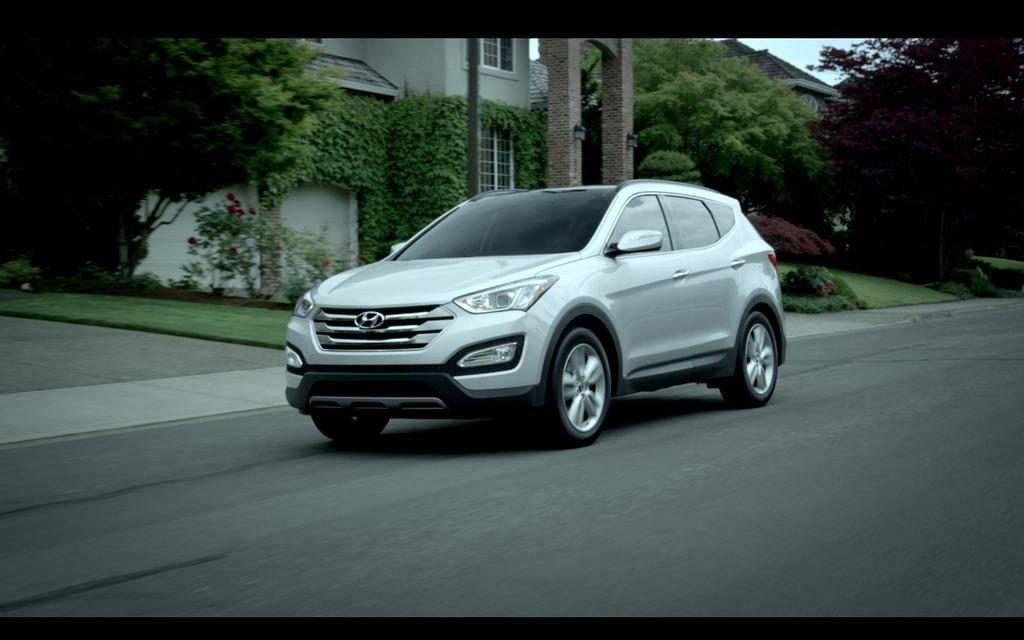 Hyundai Santafe 2016 >> Photos Hyundai Santa Fe 2016 - 1/4 - Guide Auto