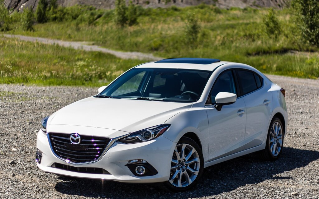 2016 mazda mazda3 sedan gs specifications the car guide. Black Bedroom Furniture Sets. Home Design Ideas
