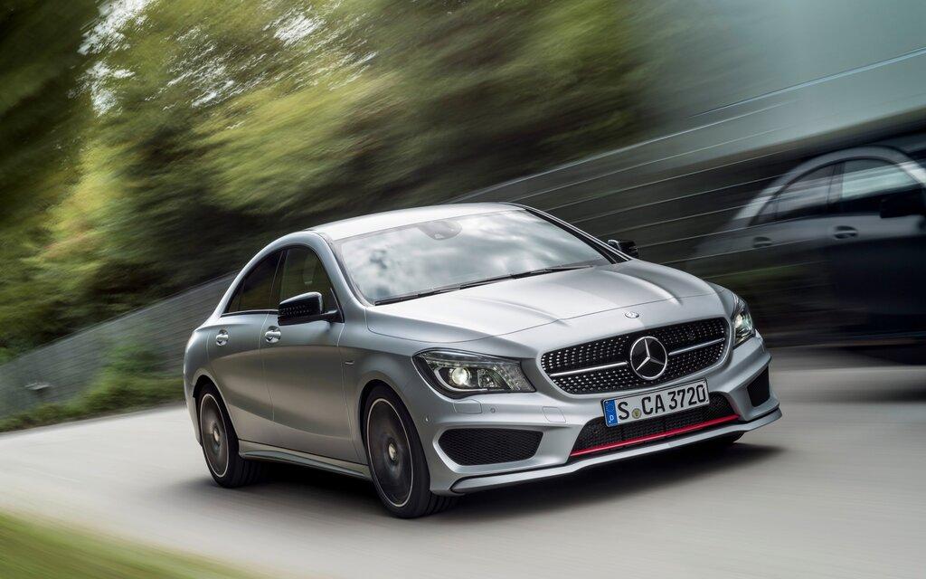 Attractive Mercedes Benz CLA Class. All Photos