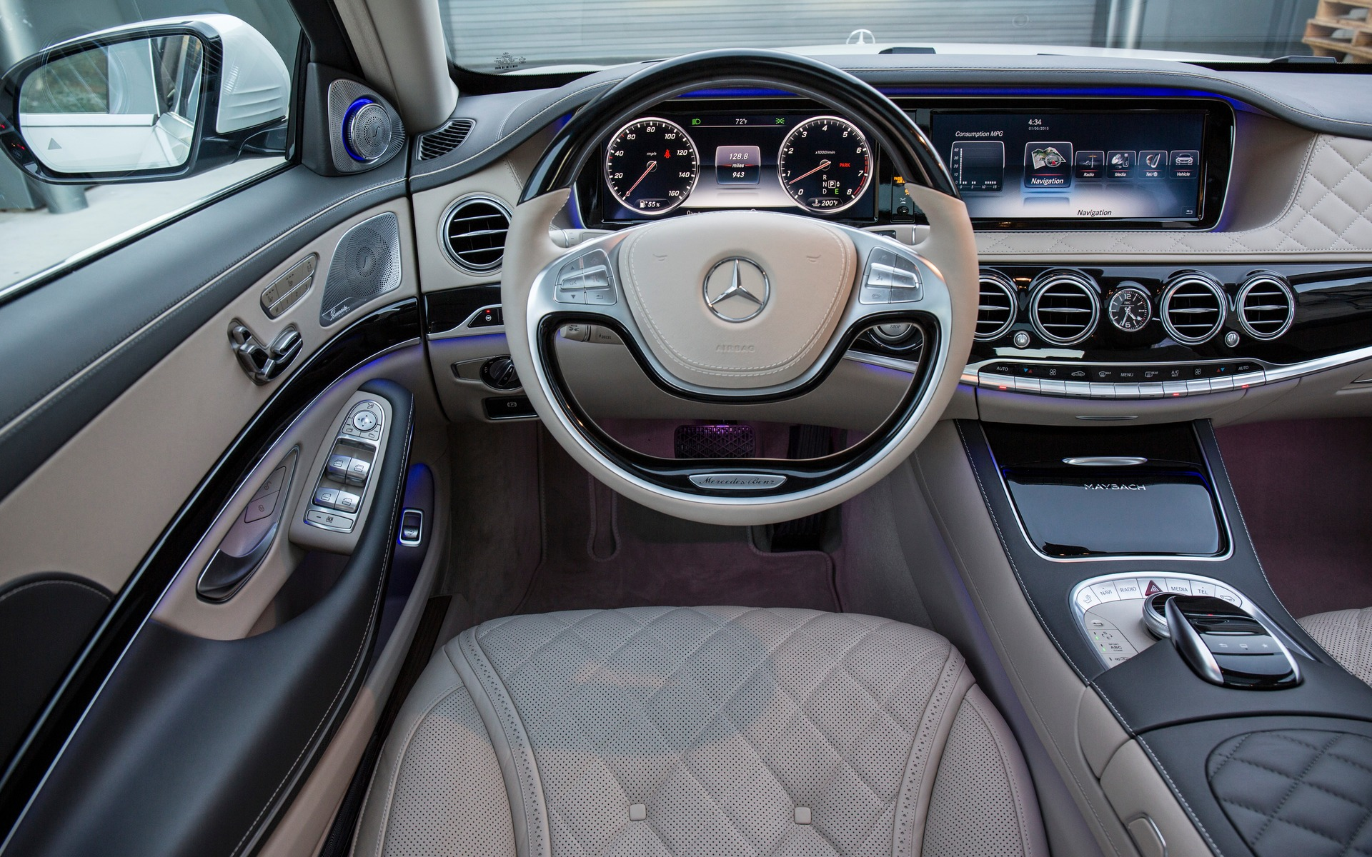 2016 mercedes benz s class photos 5 8 the car guide. Black Bedroom Furniture Sets. Home Design Ideas