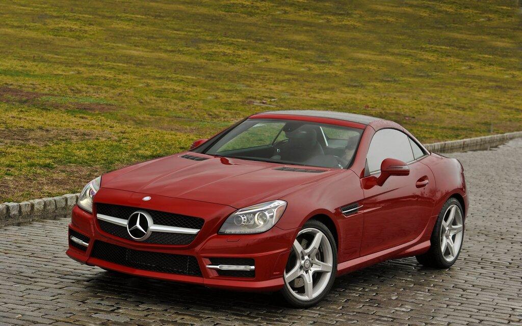 benz review car test driving slk reviews mercedes road