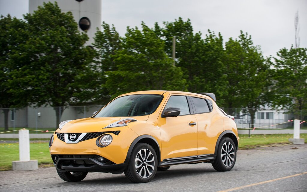 nissan juke 2016 essais actualit galeries photos et vid os guide auto. Black Bedroom Furniture Sets. Home Design Ideas