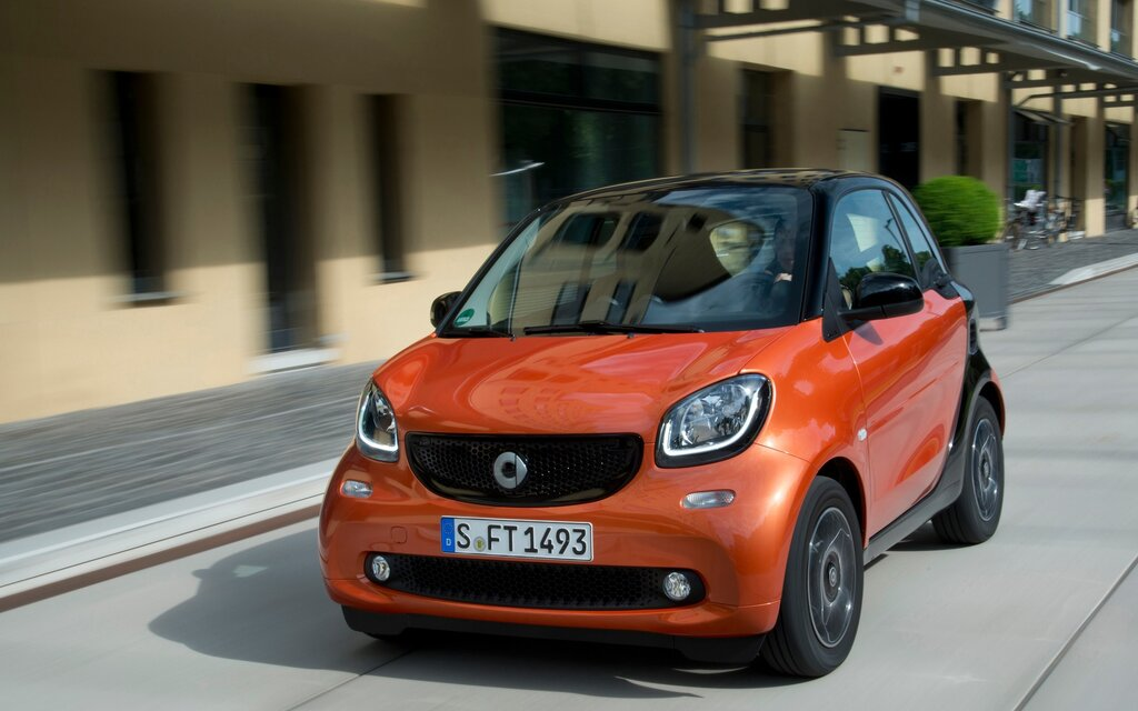 smart fortwo 2016