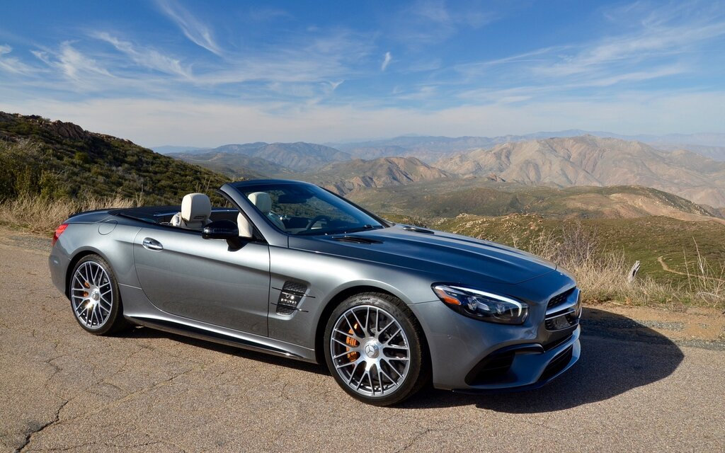 2017 mercedes-benz sl-class 450 specifications - the car guide
