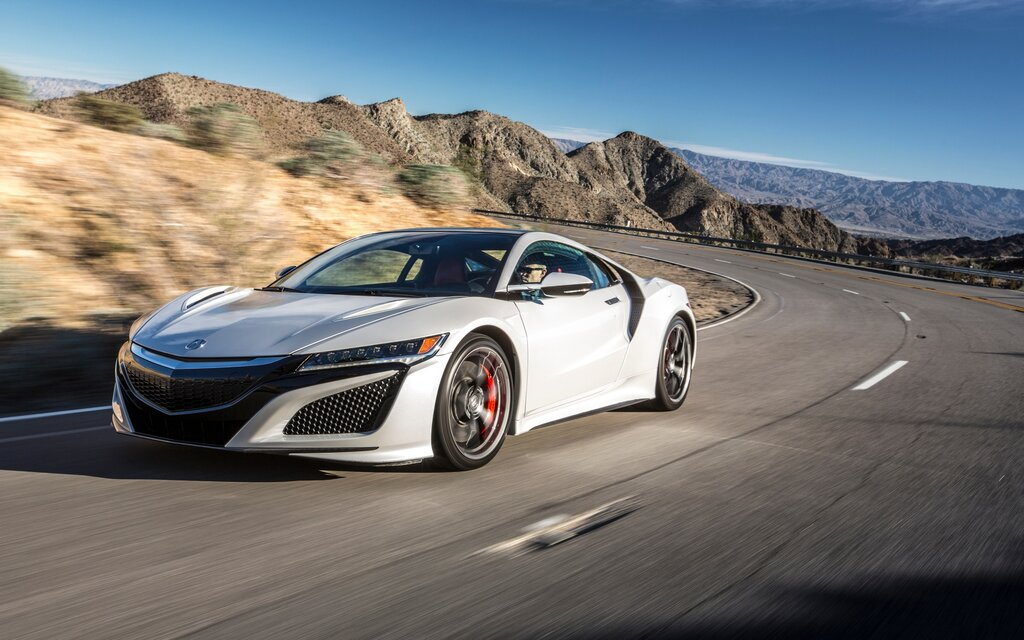 2017 Acura NSX Base Specifications - The Car Guide