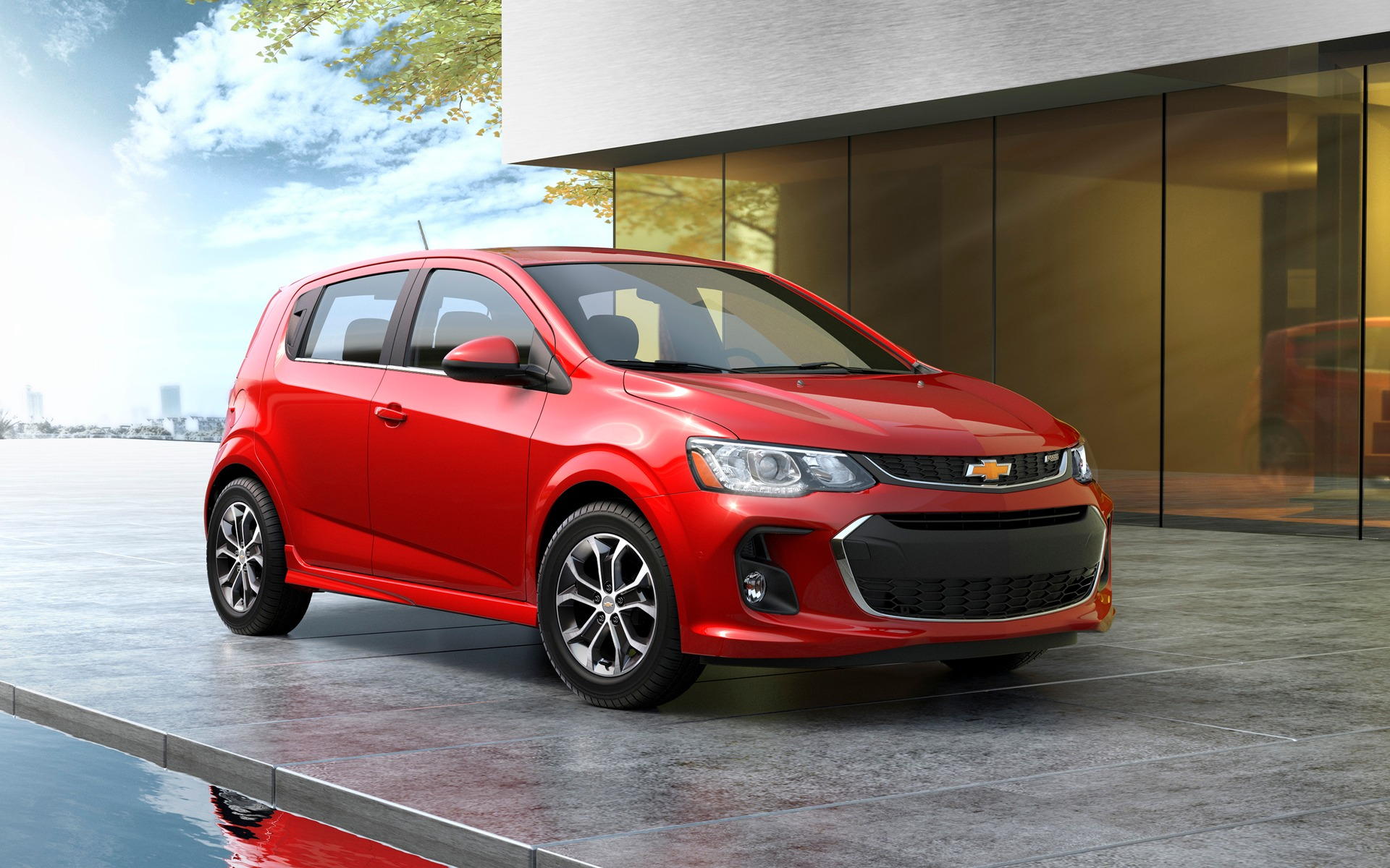 2017 Chevrolet Sonic LT Hatchback Specifications  The Car Guide