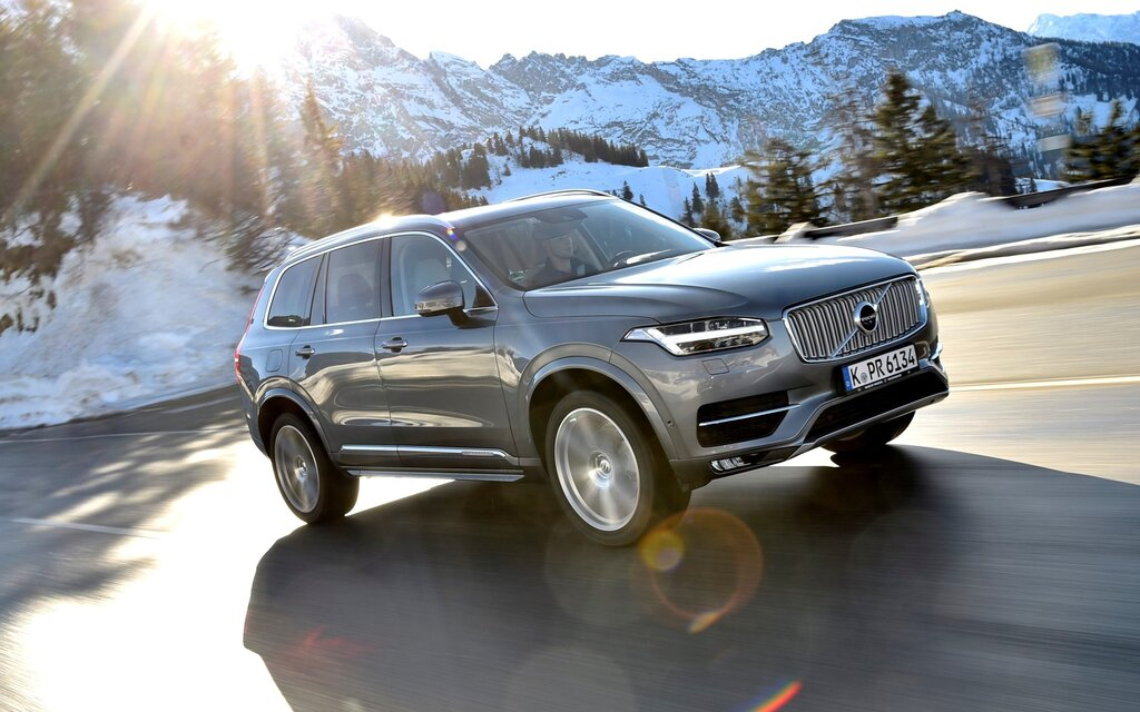 2017 Volvo XC90 T8 R-Design Specifications - The Car Guide