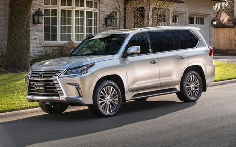 2017 lexus lx 570 - price, engine, full technical specifications