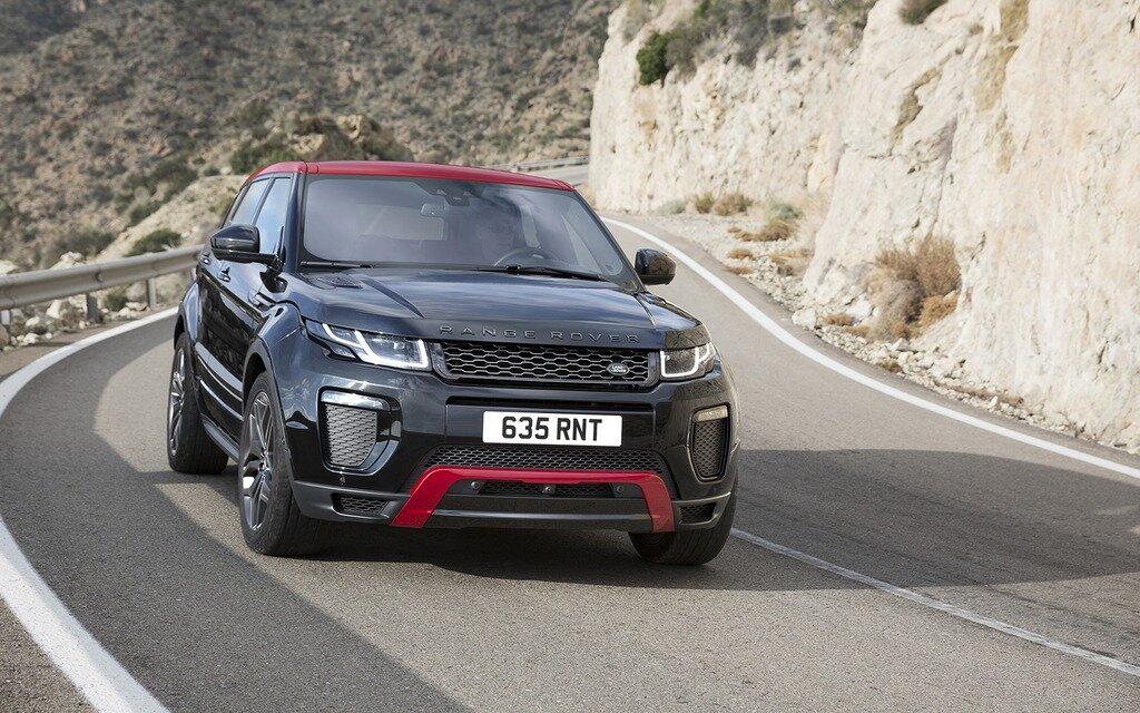 land rover range rover evoque 2017 essais actualit. Black Bedroom Furniture Sets. Home Design Ideas