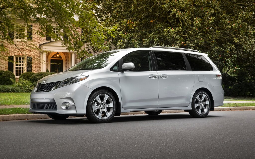 sp cifications toyota sienna se v6 8 places 2017 guide auto. Black Bedroom Furniture Sets. Home Design Ideas
