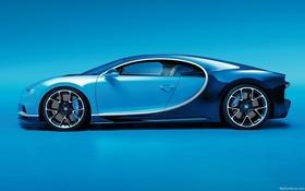 spécifications bugatti chiron w16 base 2017 - guide auto
