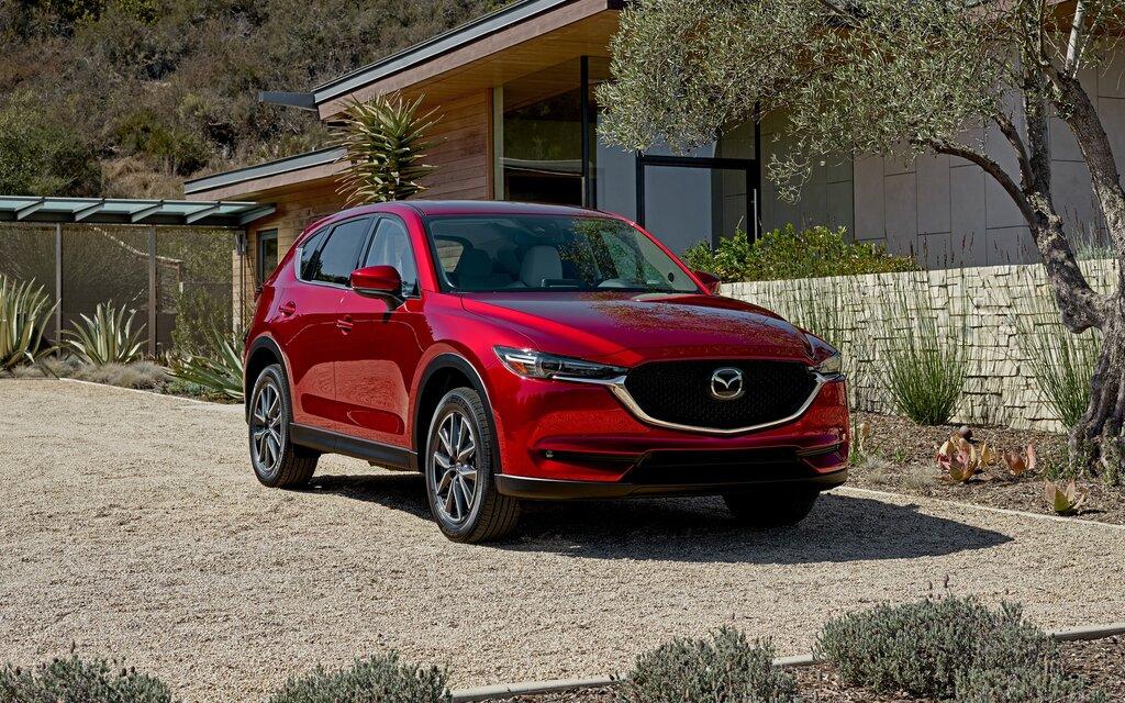 Mazda CX 5. All Photos