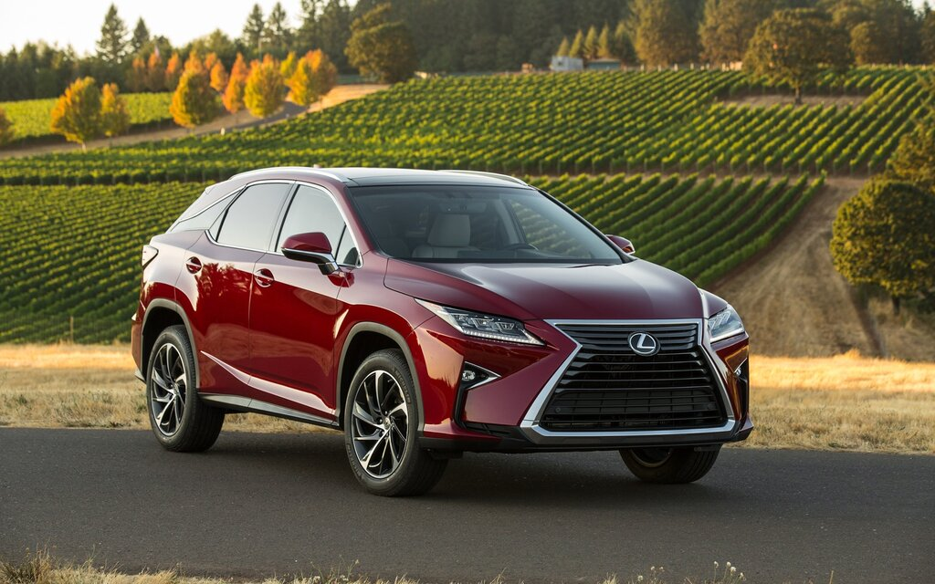 Lexus suv weight