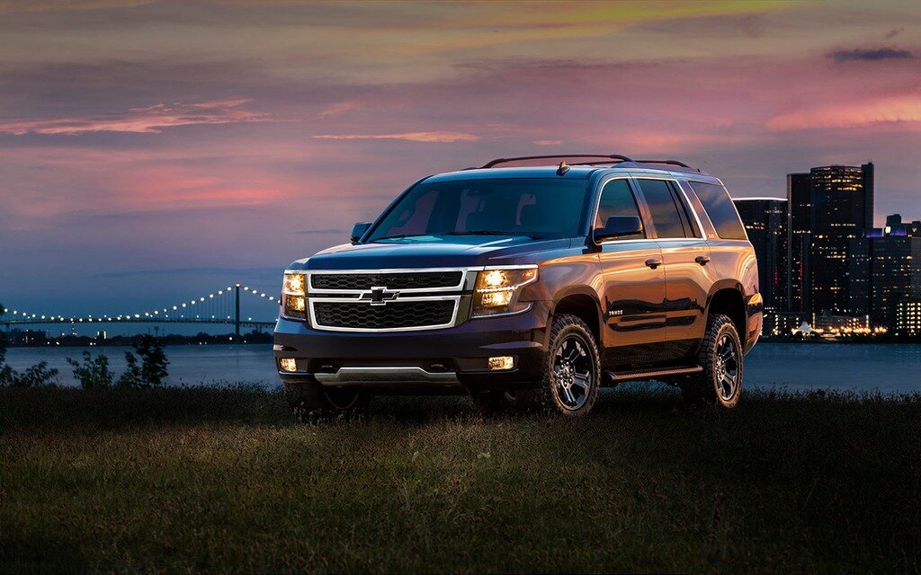chevrolet tahoe 2018 essais actualit galeries photos et vid os guide auto. Black Bedroom Furniture Sets. Home Design Ideas