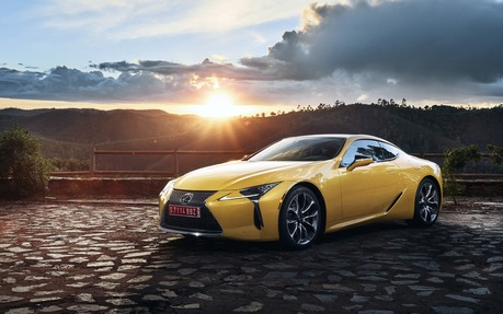 2018 Lexus LC 500 - Price, engine, full technical specifications ...
