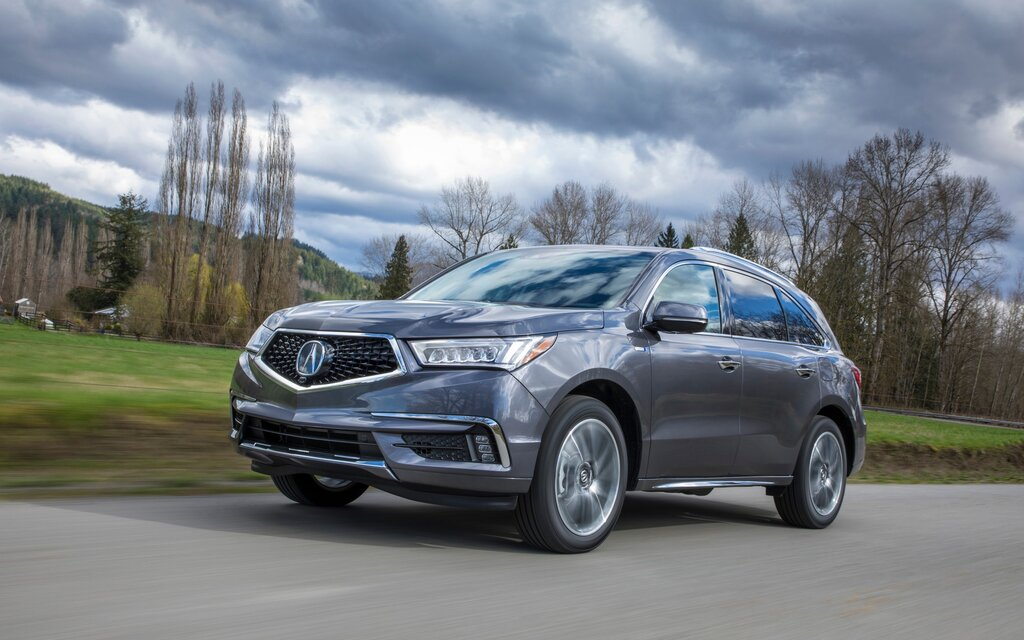 Acura MDX Sport Hybrid Specifications The Car Guide - Acura hybrid 2018