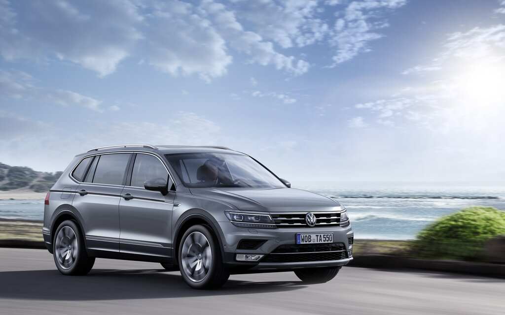 2018 volkswagen tiguan trendline specifications the car. Black Bedroom Furniture Sets. Home Design Ideas
