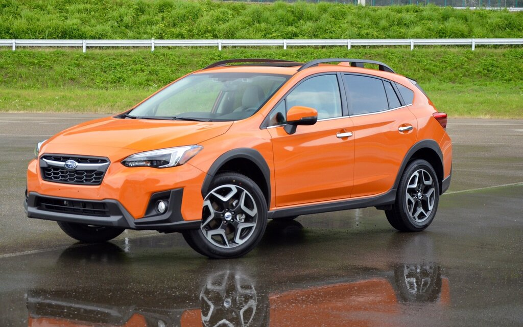 subaru crosstrek 2018 essais actualit galeries photos et vid os guide auto. Black Bedroom Furniture Sets. Home Design Ideas