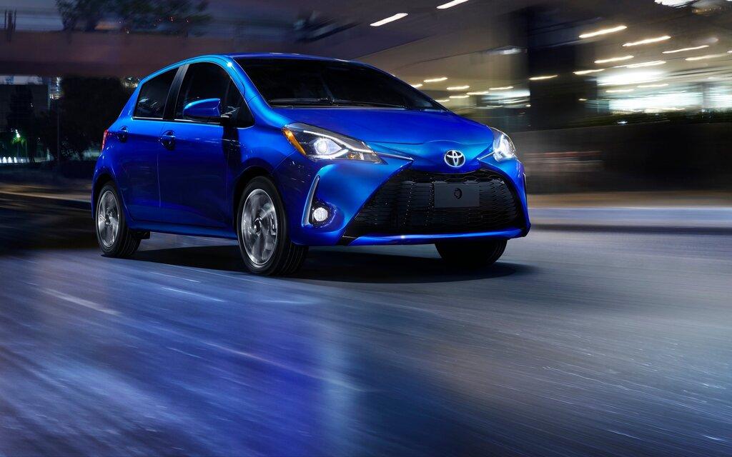 Spécifications Toyota Yaris Le Hatchback 5 Portes Man 2018 Guide