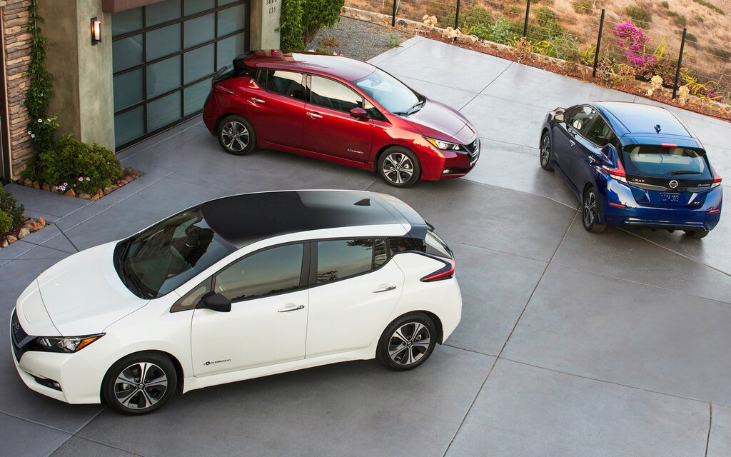 2018 Nissan Leaf Sv Specifications The Car Guide