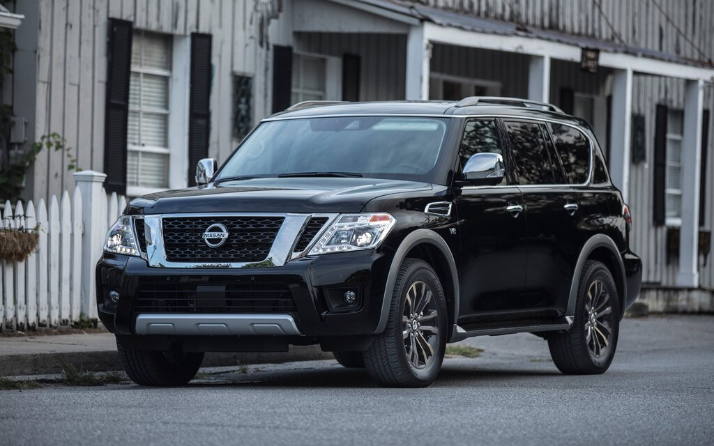2018 nissan armada sl specifications the car guide. Black Bedroom Furniture Sets. Home Design Ideas