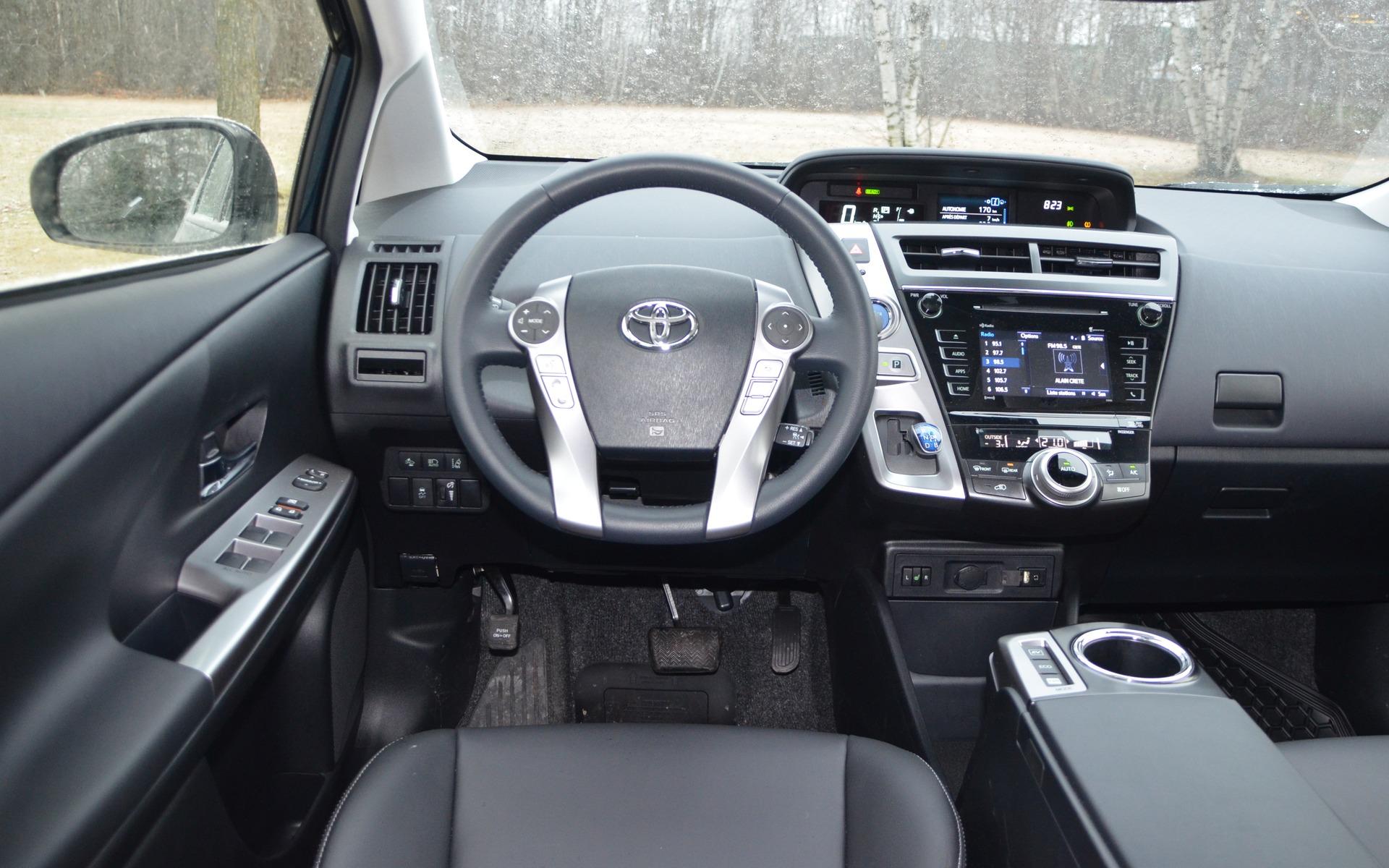 2018 Toyota Prius V >> 2018 Toyota Prius V Photos 3 6 The Car Guide