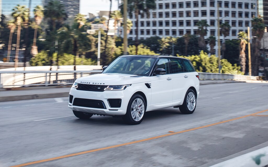 2018 Land Rover Range Rover Sport SVR Specifications - The Car Guide