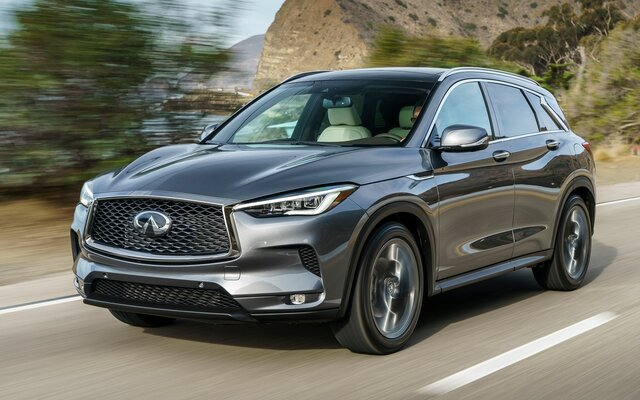 2019 Infiniti QX50 LUXE Specifications - The Car Guide