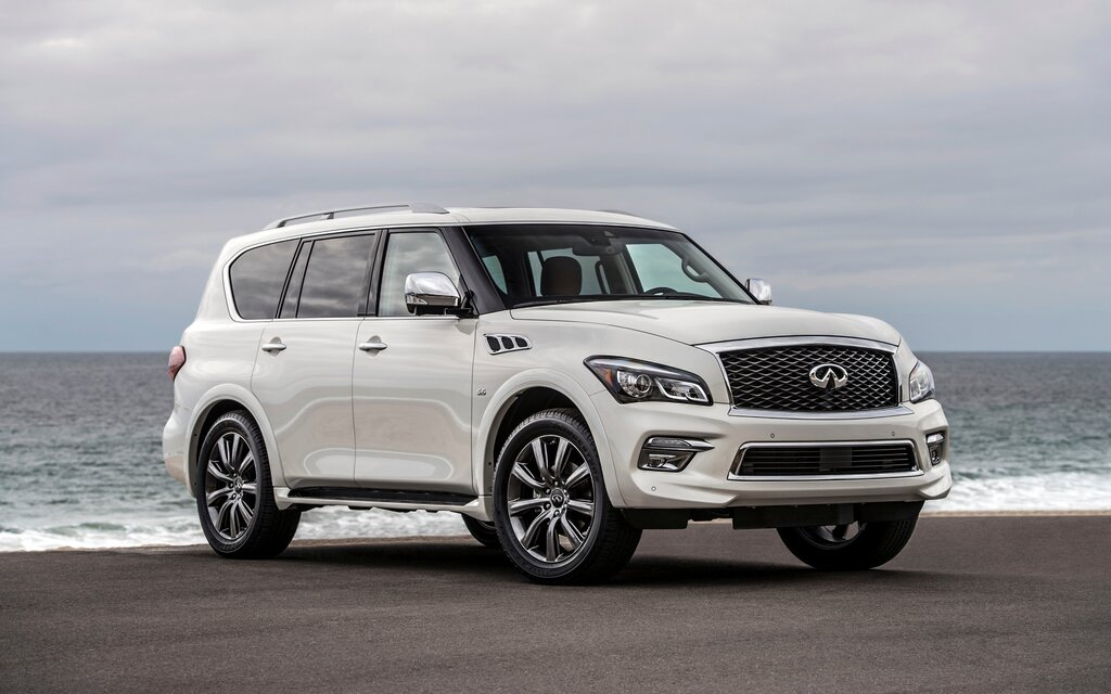 Length of infiniti qx80