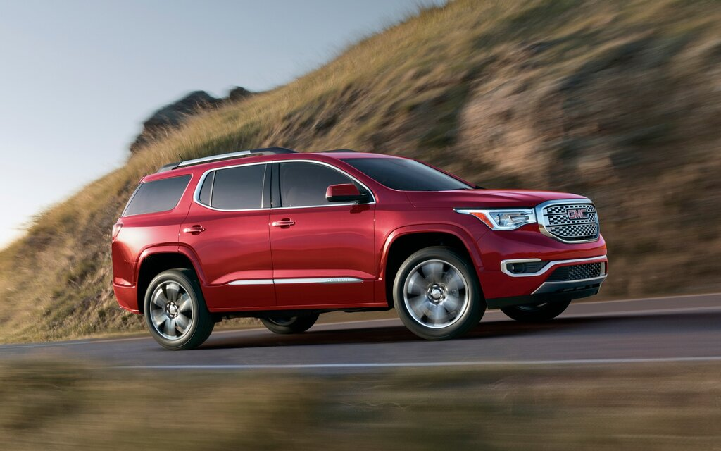 2019 Gmc Acadia Denali Awd Specifications The Car Guide