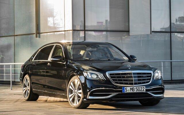 Mercedes Classe S >> 2018 Mercedes Benz S Class S 450 4matic Sedan Specifications