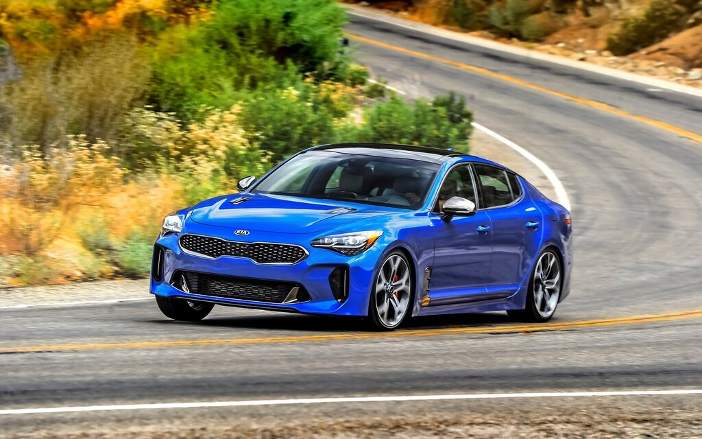 2019 kia stinger gt line specifications the car guide. Black Bedroom Furniture Sets. Home Design Ideas