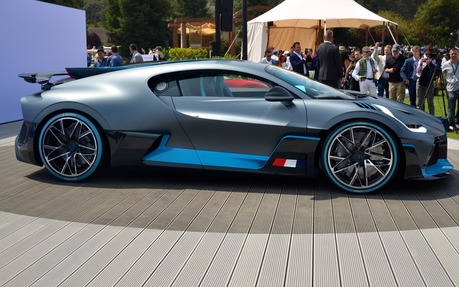 2019 Bugatti Divo W16 Base Price Engine Full Technical