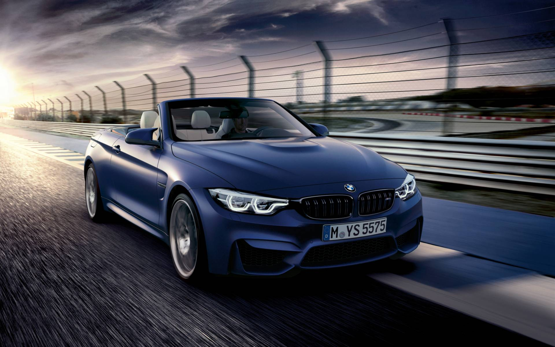 2020 Bmw 4 Series Convertible Blue