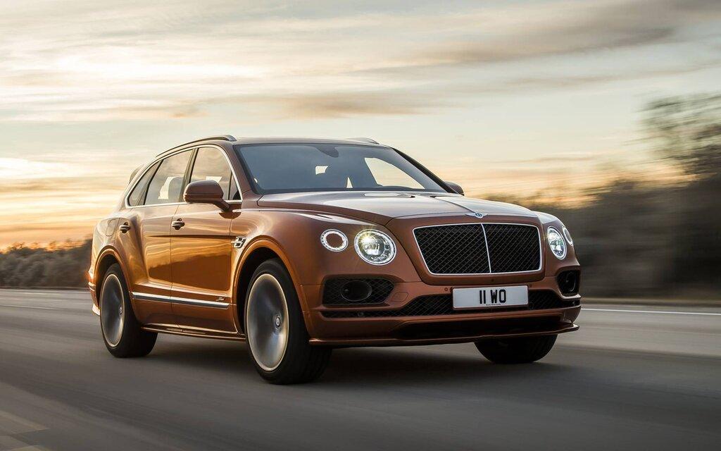 Bentley Bentayga 2020
