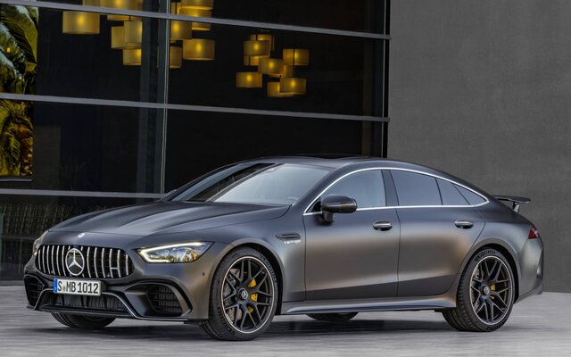 2020 Mercedes-Benz AMG GT 4-Door Coupe