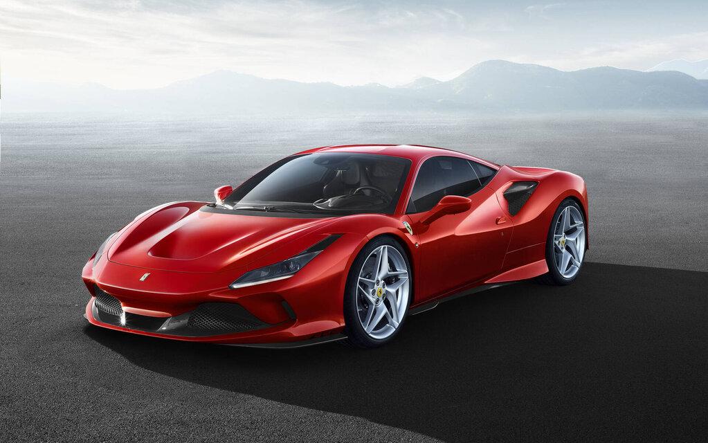 Ferrari F8 2021