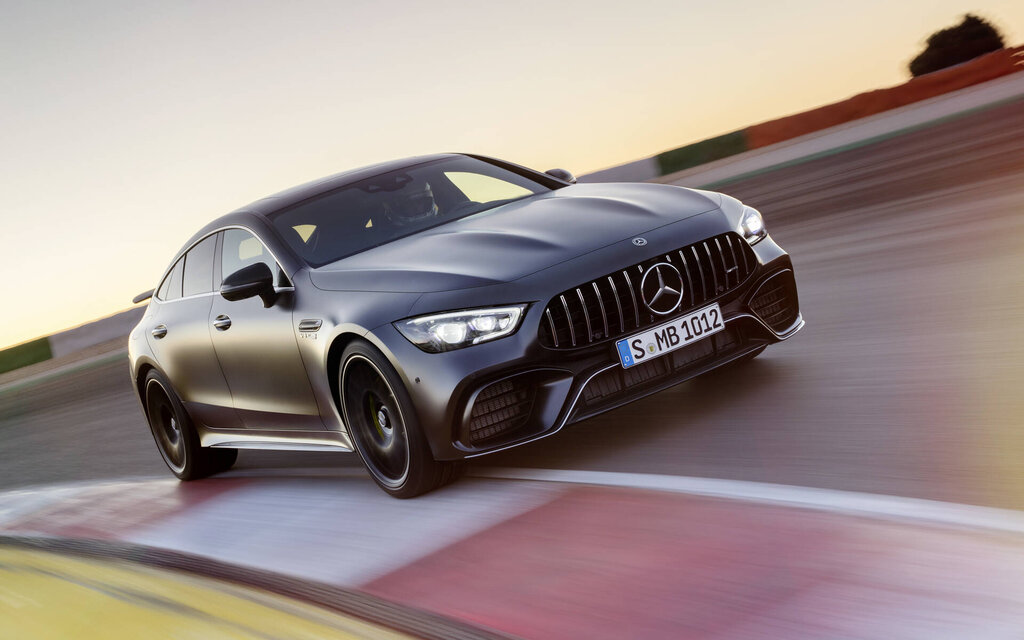 Mercedes-Benz AMG GT Coupé 4-portes 2021