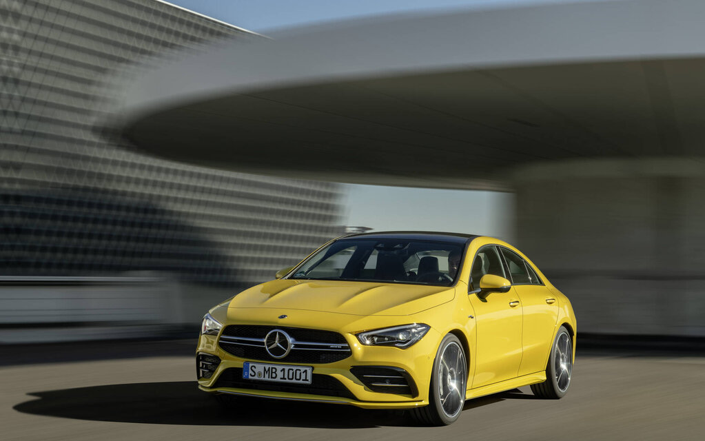 Mercedes-Benz CLA 2021