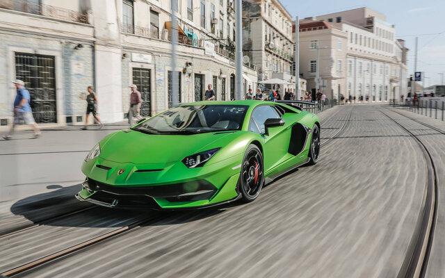 Lamborghini Aventador 2021