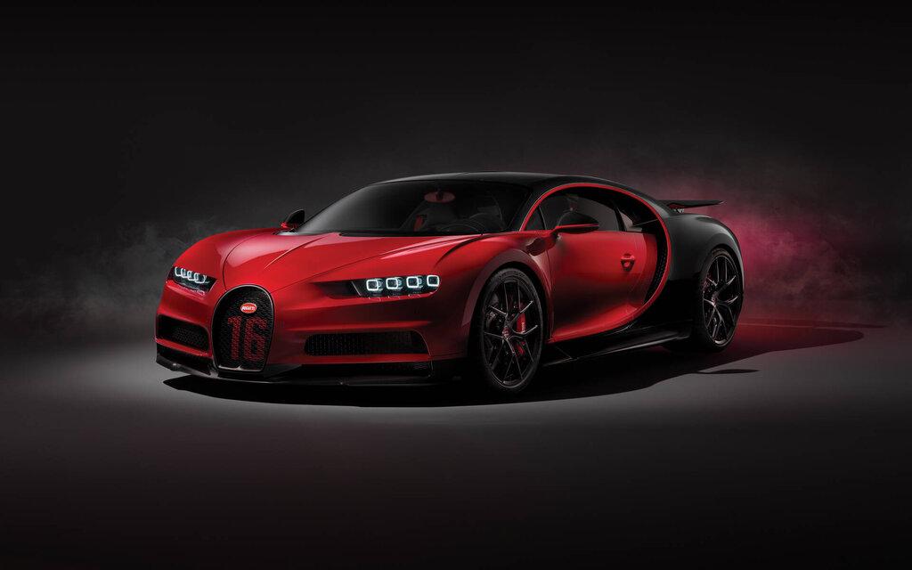 Bugatti Chiron 2021
