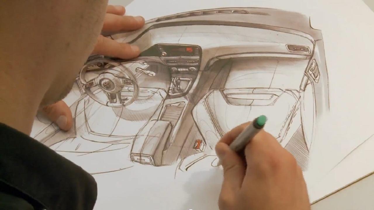 Vid o volkswagen golf conception de l 39 int rieur en anglais le guide - Interieur en anglais ...