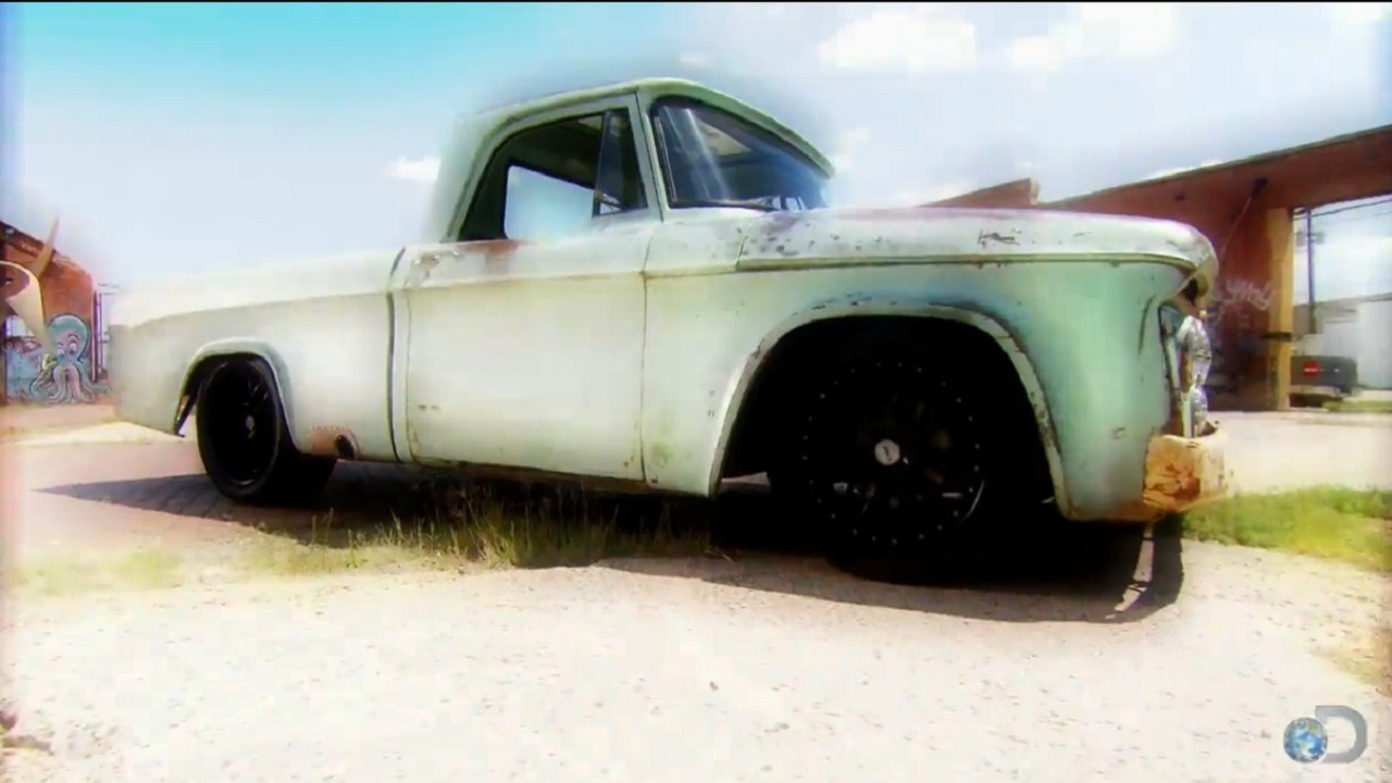 Fast N' Loud': '64 Dodge Sweptline Pickup - The Car Guide