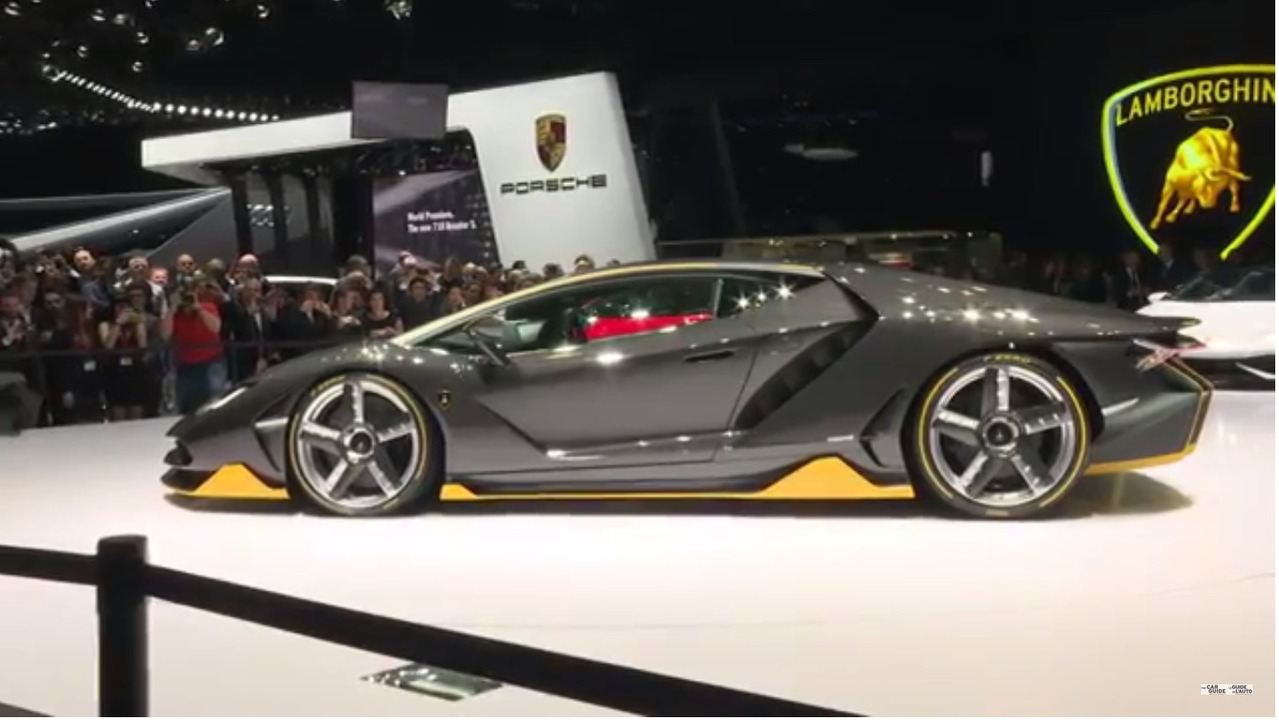 Top 10 des bolides du salon de gen ve 2016 guide auto - Salon de l auto geneve ...