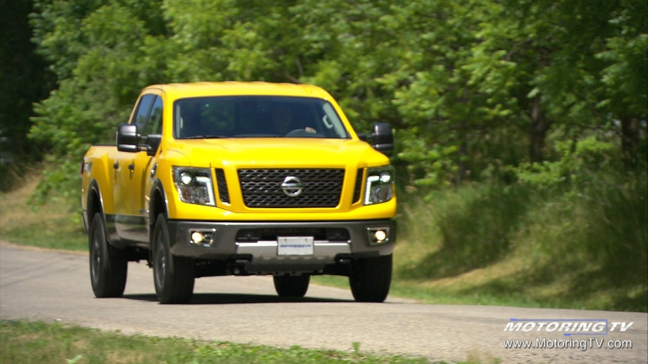 review 2017 nissan titan xd pro 4x the car guide. Black Bedroom Furniture Sets. Home Design Ideas