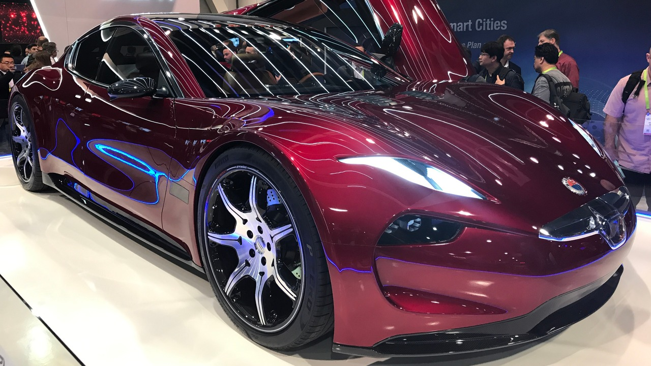 la fisker emotion en premi re mondiale au ces 2018 guide auto. Black Bedroom Furniture Sets. Home Design Ideas