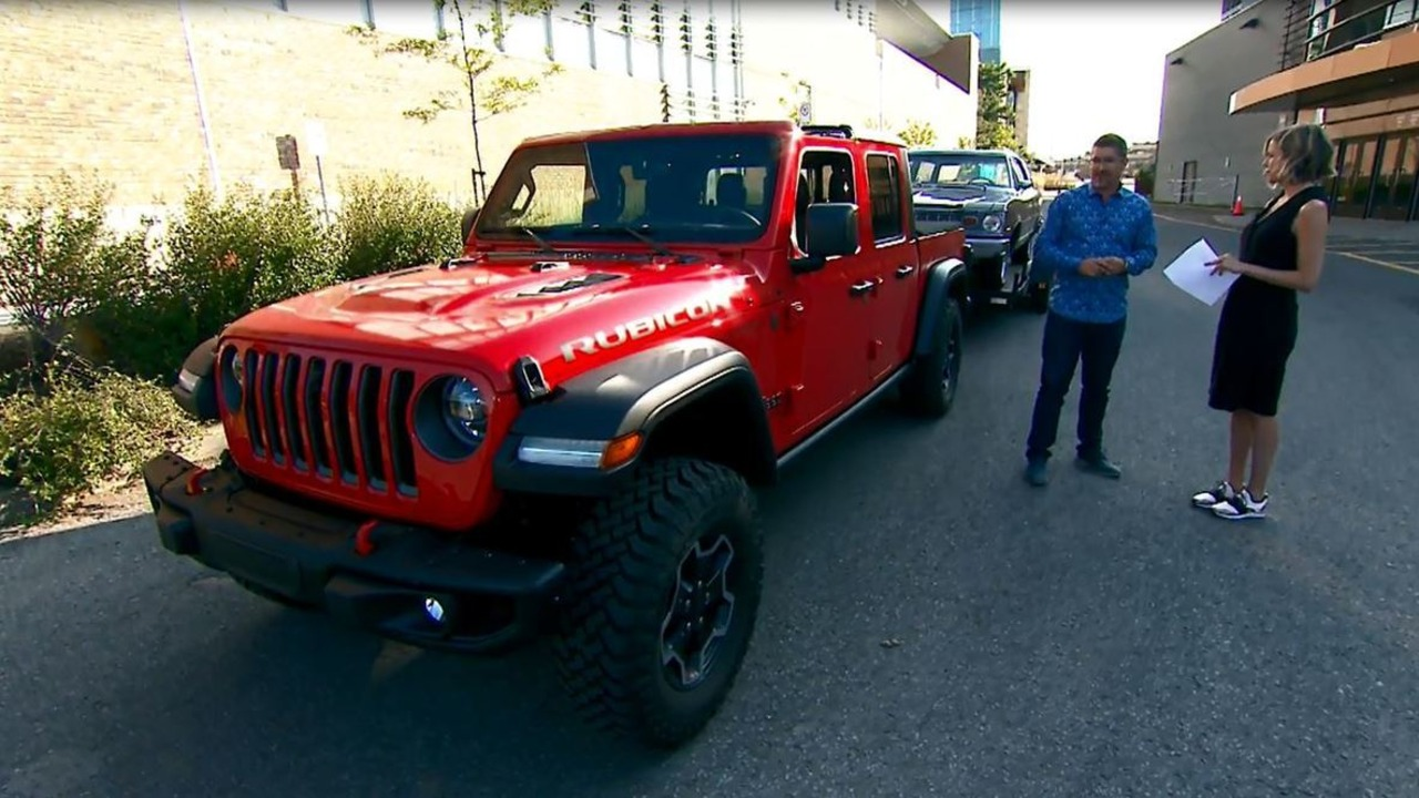 Antoine Joubert Présente Le Jeep Gladiator 2020