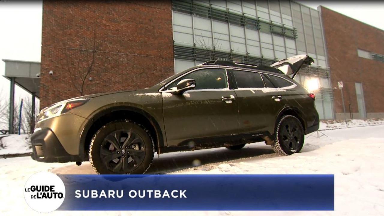 Antoine Joubert Présente La Subaru Outback 2020